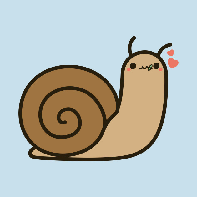 Cute Snail Snail T Shirt TeePublic