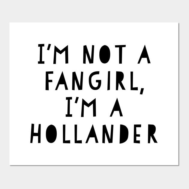 i m a hollander