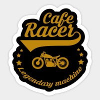 Cafe Racer Stickers India | Newmotorwall.org