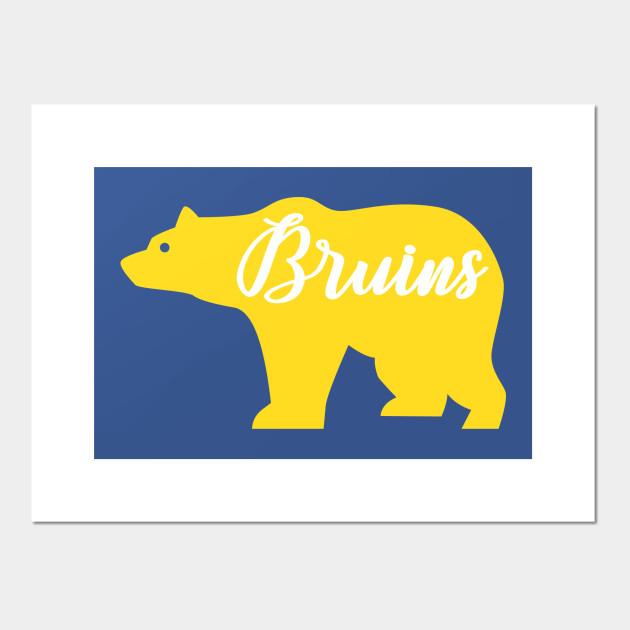 yellow bruins bear ucla ucla