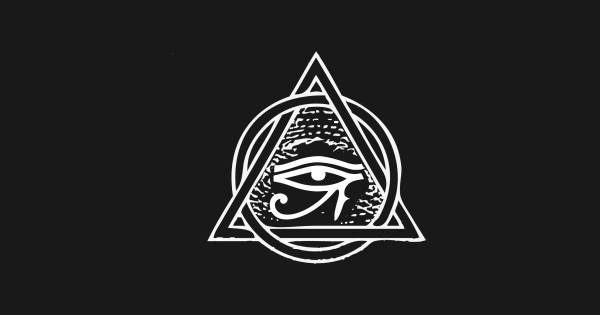 Pyramid Eye of Ra Cool Illuminati All Seeing Eye Design