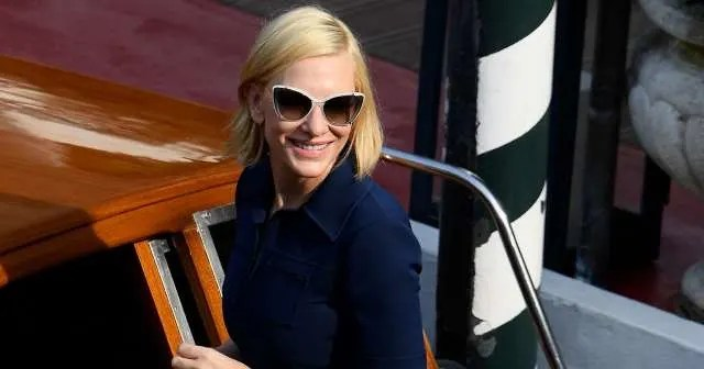 Cate Blanchett in Donald Trump Sister