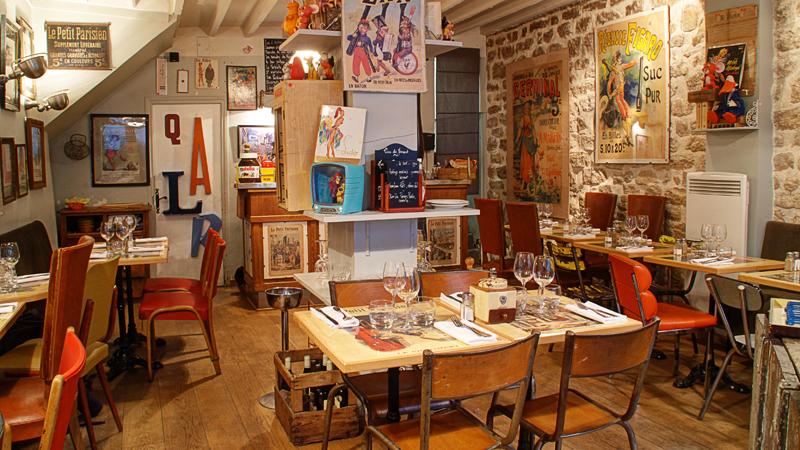 le petit parisien in paris restaurant