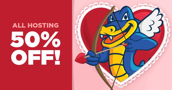 HostGator Valentines Day Sale