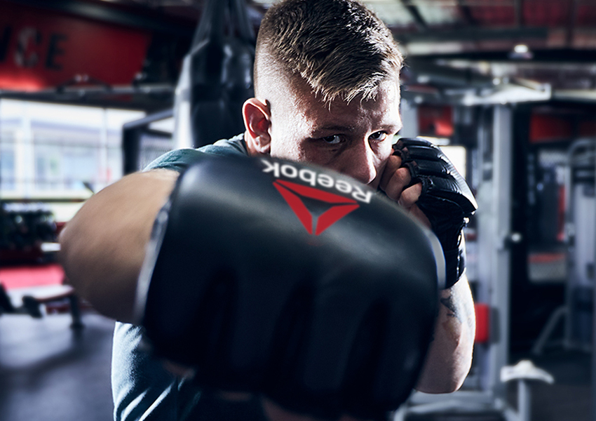 Reebok UFC Photo Athlete In Training for FIght Night