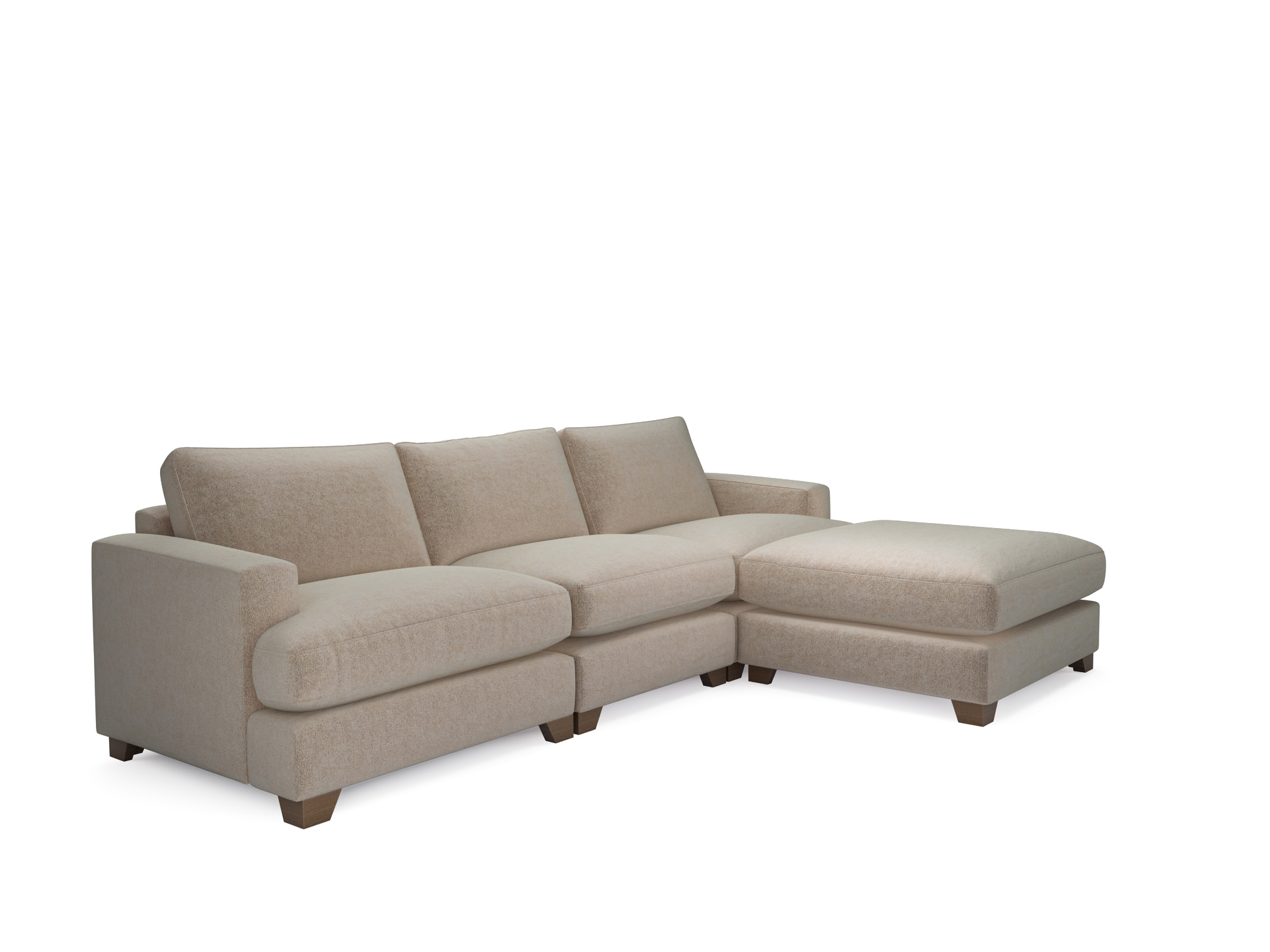 holly sofa the lounge co 2 seater grey with footstool sofas neutral