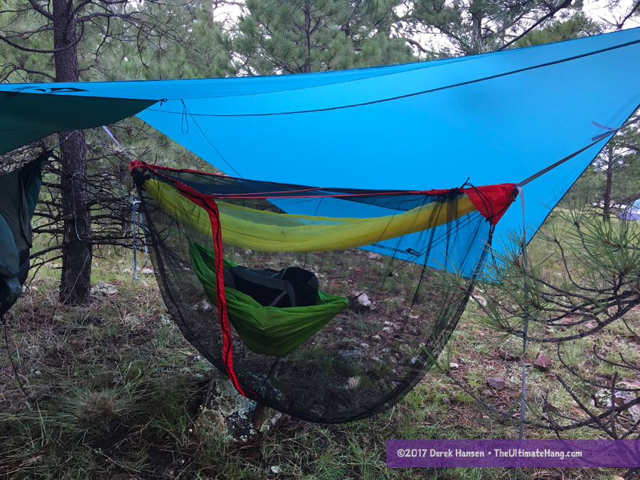 By far the most questions Iu0027ve received since I began reviewing this kit was around the bug net. Does it really work? Does it compare with other 360° bug ... & Review - Sea to Summit Hammock Gear - The Ultimate Hang