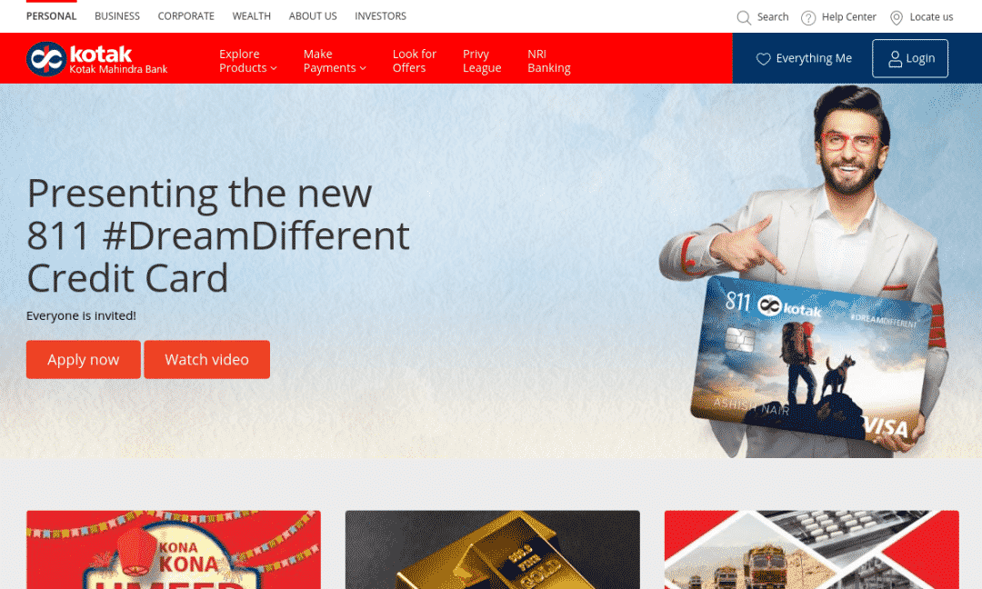 Kotak811 Online Bank: Rs0 Balance Savings Account Instantly