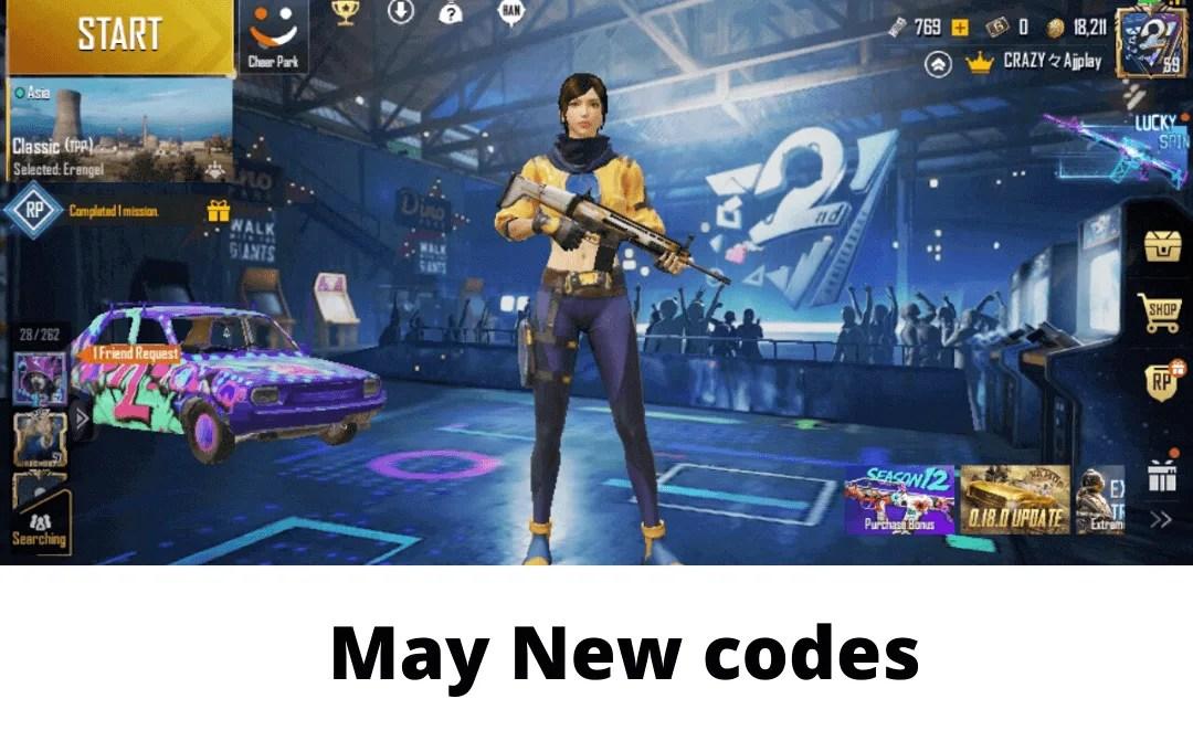 PUBG redeem code may