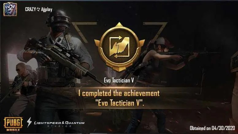 How to Complete Evo Tactician V in PUBGM
