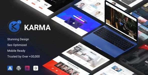 Karma 6.1.4 - Elementor Business WordPress Theme