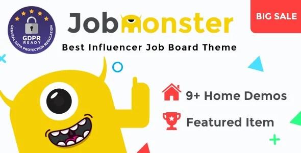 Jobmonster 4.6.6.2 – Job Board WordPress Theme