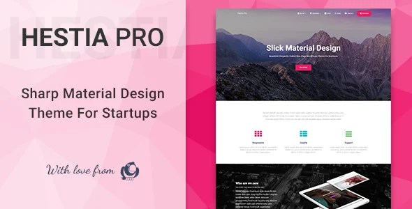 Hestia Pro 3.0.5 New - Multi-Purpose WordPress Theme