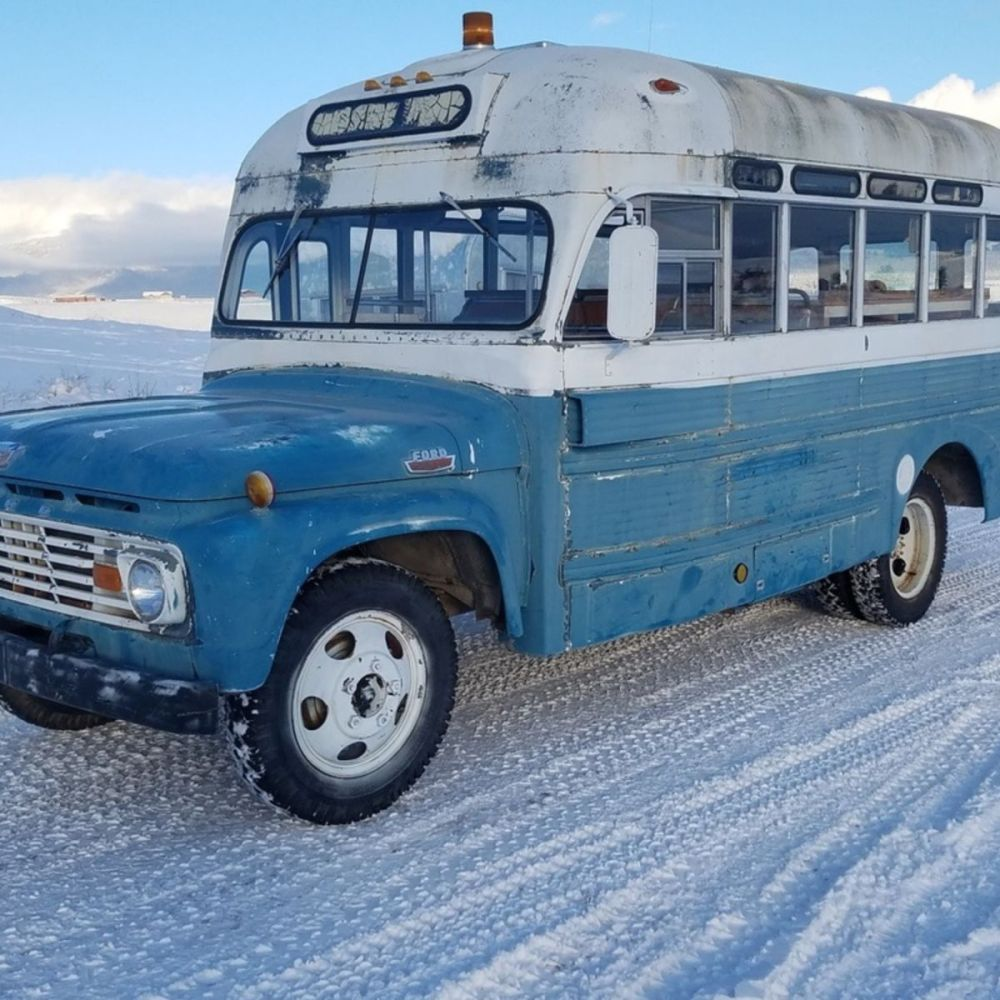 medium resolution of 1962 ford high top bus conversion