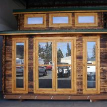 Diy Tongue And Groove Tiny Home Kit-black Butte Bungalow