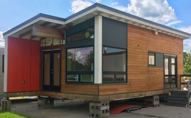 Finish This Tiny Home To Your Tastes Tiny House For