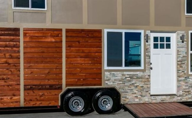 The Luxe Tiny Home On Wheels Tiny House For Sale In