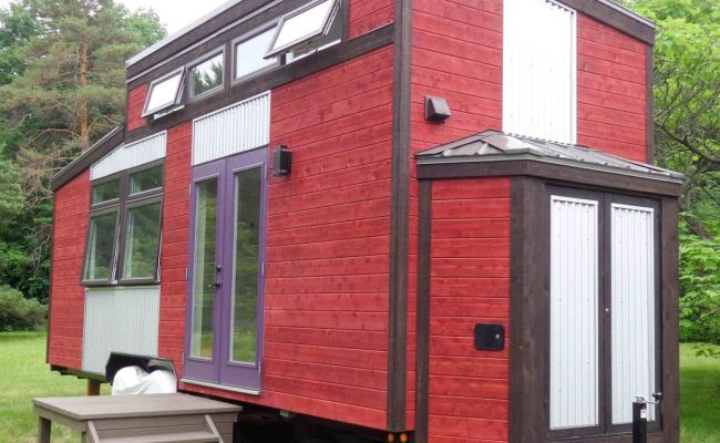 Four Season Canadiana Tiny House For Sale In Montreal