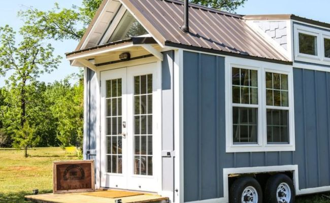 Free Range 16ft Custom Cottage Tiny House For Sale In