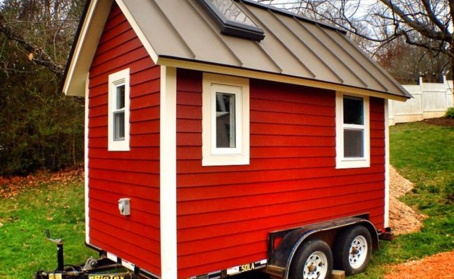 The Little Red House Tiny House For Sale In Asheville