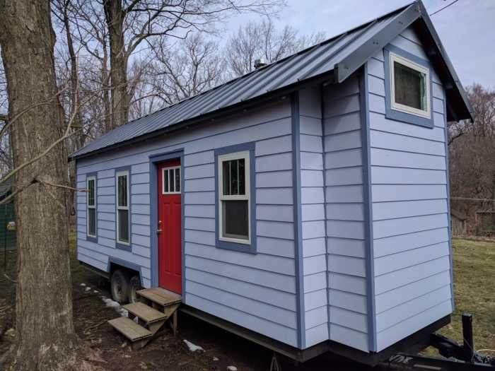 Working Class Tiny House  Tiny House for Sale in Lansing Michigan  Tiny House Listings