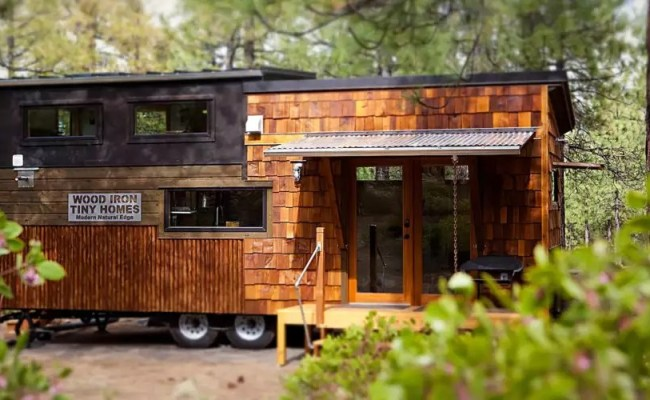 You Must See This 26 Modern Natural Luxury Tiny Home