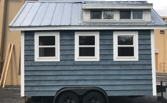 Tiny Cottage On Wheels Shell Tiny House For Sale In