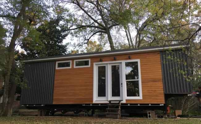 Extra Wide Tiny House For Sale 350sqft Tiny House For
