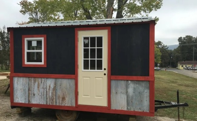 Dried In Tiny House For Sale In Mountain View Arkansas