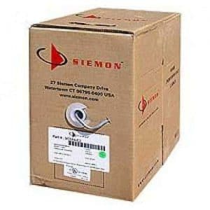 Siemon Cat 6 UTP Pure Copper  Ethernet Cable 305M