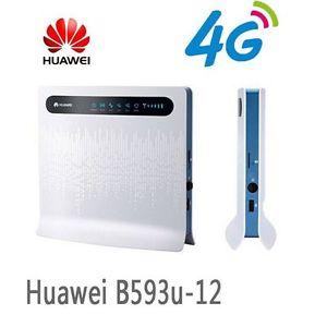 Wi-Fi 4G High-speed Wireless Router Hauwei B593