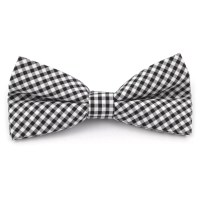 Black And White Checkered Bow Tie | Free shipping | Trendhim