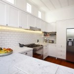 Subway Tiles And Ultra Bianco Carrara Honed Marble Trends