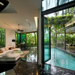 Tropical Living Room In Malaysia Pottery Barn Pictures Of Rooms This Kampong Style House The A Trends Areas Architecture Condominium Estate