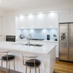 Contemporary White Kitchen With Pal Gallery 4 Trends