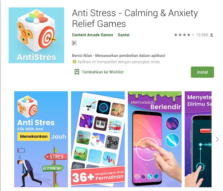 Game Anti Stress