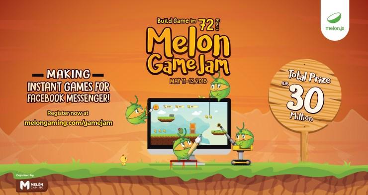 Ayo Ikuti Melon Game Jam Mei 2018 dan Dapatkan Hadiah Menariknya