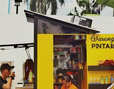 Warung Pintar Gandeng Go-Pay Untuk Pembayaran Non Tunai