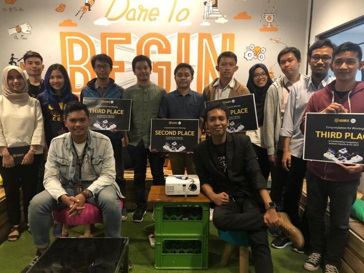 Sayembara Volantis dan Data Science Indonesia