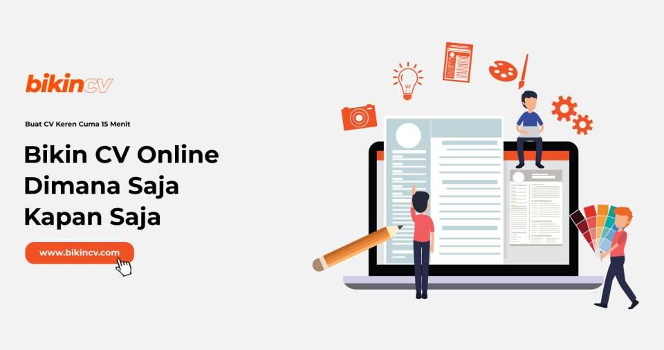 Bikin CV Online
