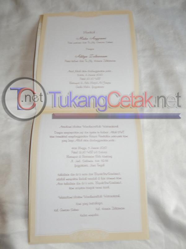 Undangan Pernikahan Murah Tangerang Soft Cover