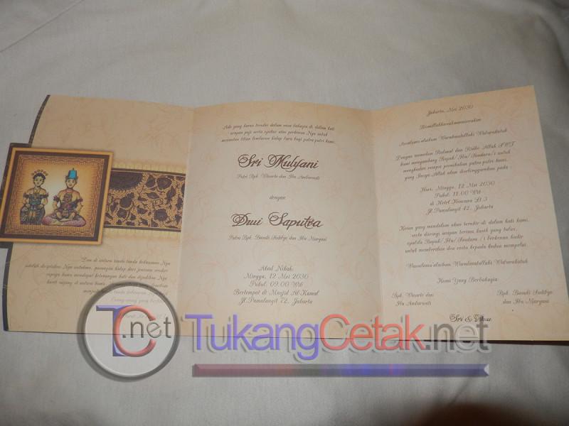 Cetak Undangan Pernikahan Murah Tangerang