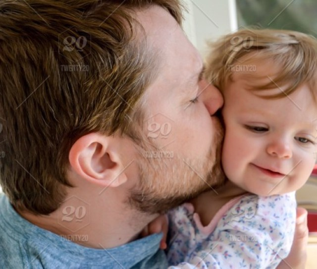 Fathers Love For His Daughter Family Parent Daddy Little Girl Child Cute Joy Happiness Emotion Affectionate Embracing Hugging Bonding