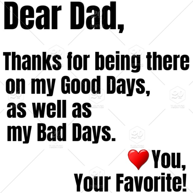 Dear Dad You Are So Awesome That You Too Deserve A Gift On