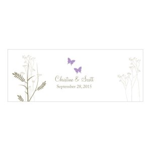 Romantic Butterfly Mini Luminary Wrap Lavender