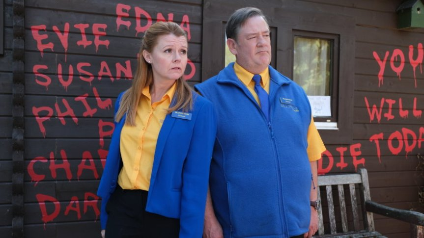 Sian Gibson and Johnny Vegas to star in Murder, They Hope