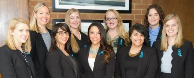 Group of women students from the Social Justice Student Initiative pose for photograph.