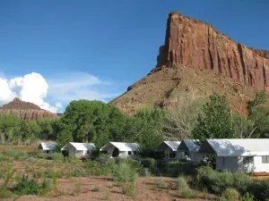 The Canyonlands Research Center's field station at the Dugout Ranch. Photo by Alice de Anguera.