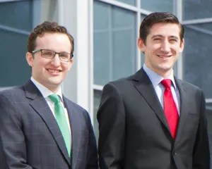 The team of Stephen Dent and Jeremy Christiansen