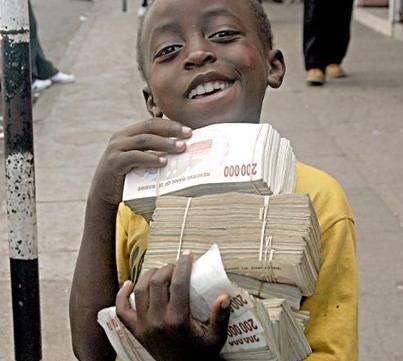 billionaire zimbabwean child